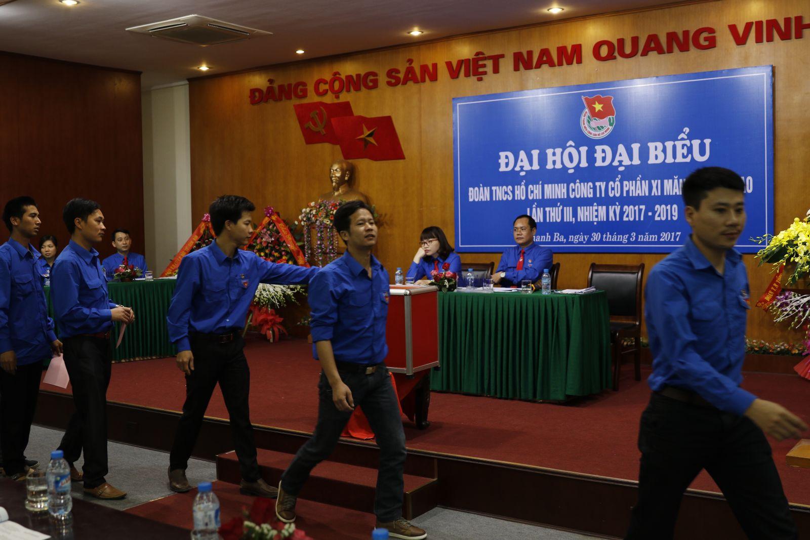 Đại hội Đại biểu Đoàn Thanh Niên Công ty cổ phần Xi măng Sông Thao, Lần thứ III, Nhiệm kỳ 2017 - 2019