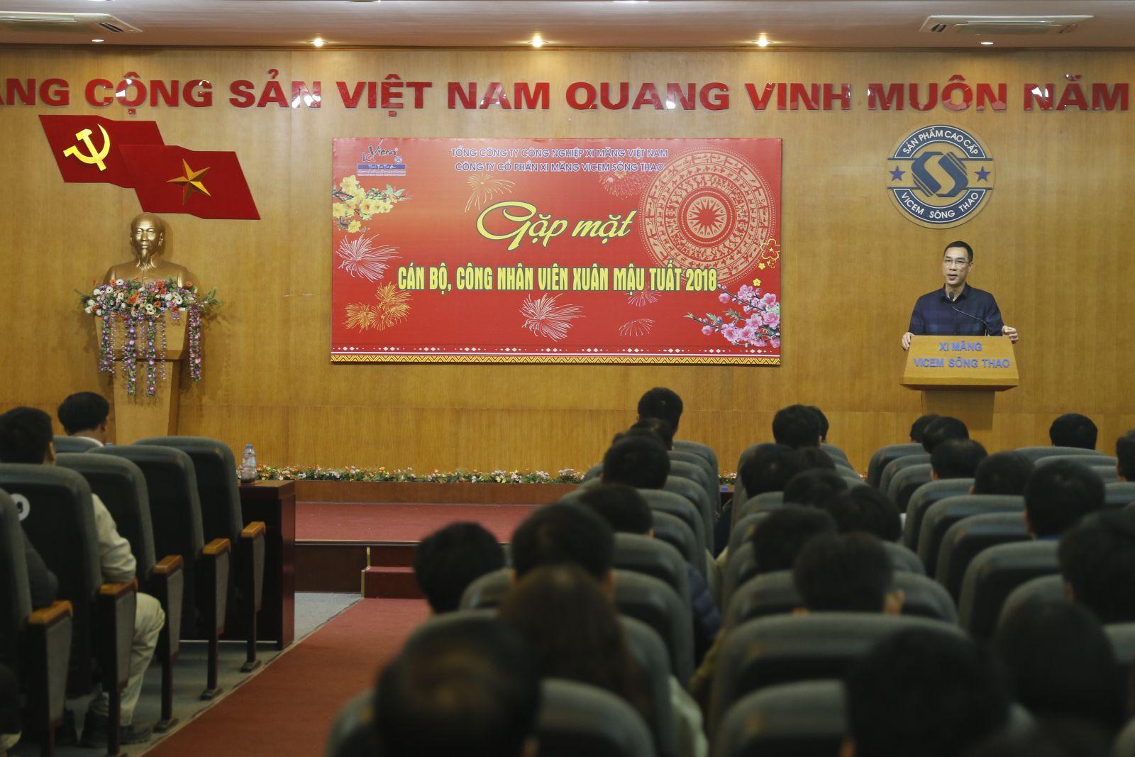 Gặp mặt CBCNV Công ty Đầu Xuân Mậu Tuất 2018