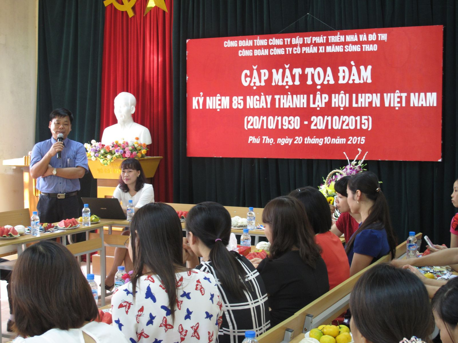 Gặp mặt tọa đàm nữ CBCNV nhân kỷ niệm 85 năm thành lập Hội LHPN Việt Nam