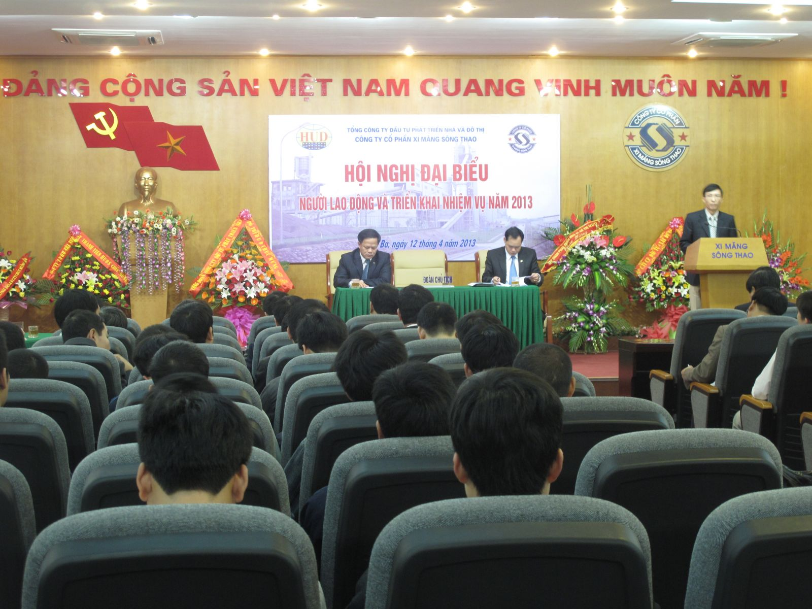 Hội nghị Đại biểu Người Lao động và triển khai nhiệm vụ năm 2013